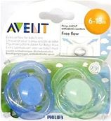 AVENT FREE FLOW SOOTHER 6-18M 4.90 **