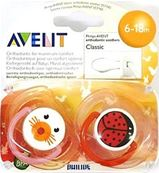AVENT SOOTHER ANIMAL 6-18M 4.90