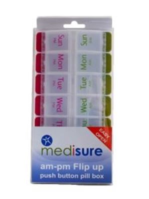 MEDISURE PILL BOX TWICE A DAY 3.25