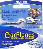 CIRRUS ADULT EARPLANES 5.25