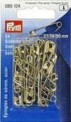 STEEL SAFETY PINS (24) 1.95